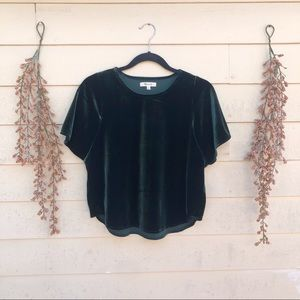 Madewell Butterfly Sleeve Top